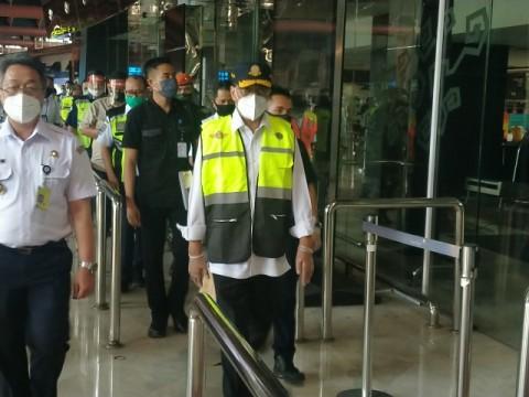Menhub Cek Protokol Kesehatan di Bandara Soetta