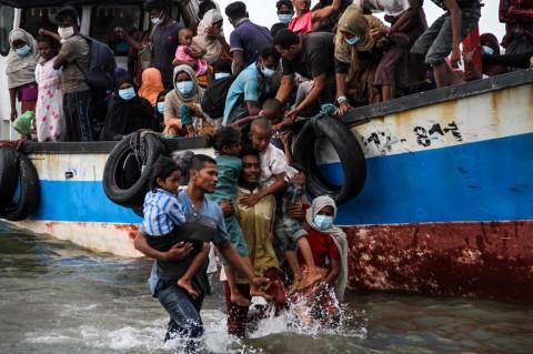 Warga Aceh Evakuasi Pengungsi Rohingya Atas Dasar Kemanusiaan