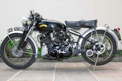 Mengenal Vincent Black Shadow, Superbike Klasik Tertua di Dunia