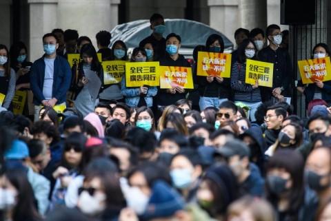 Senat AS Setujui RUU Sanksi ke Pejabat Tiongkok Terkait Hong Kong