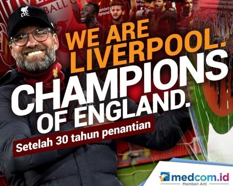 8 Rekor yang Menunggu Dipecahkan Liverpool Usai Juara Liga Inggris