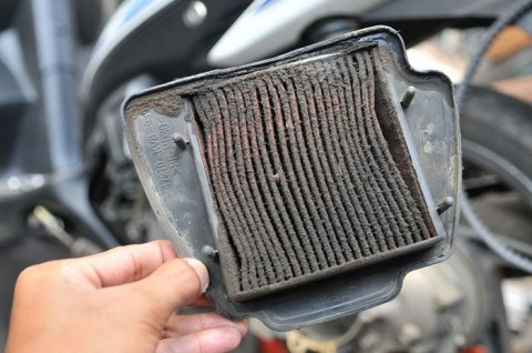 Mengenal Aneka Filter Udara Motor & Cara Membersihkannya