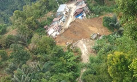 Longsor di Palopo Sulsel Memutus Jalan Provinsi