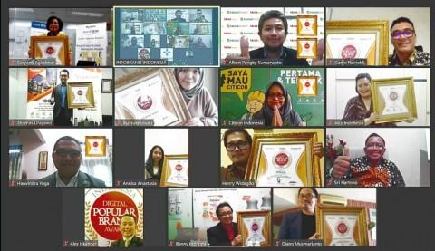 Daftar Pemenang Indonesia Digital Popular Brand Award 2020