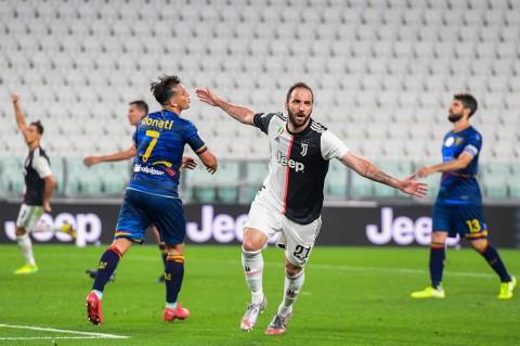 Hasil Liga Italia: Bantai Lecce, Juventus Jauhi Kejaran Lazio
