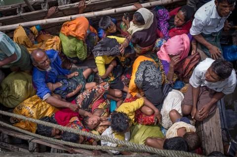 Bersama UNHCR, RI Tangani 99 Pengungsi Rohingya di Aceh