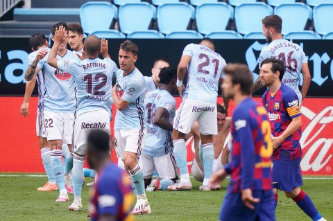 Barcelona Ditahan Imbang Celta Vigo 2-2