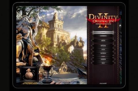 Divinity: Original Sin 2 Menuju iPad