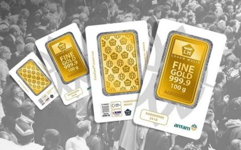 Awal Pekan, Harga Emas Antam Turun Rp1.000/Gram
