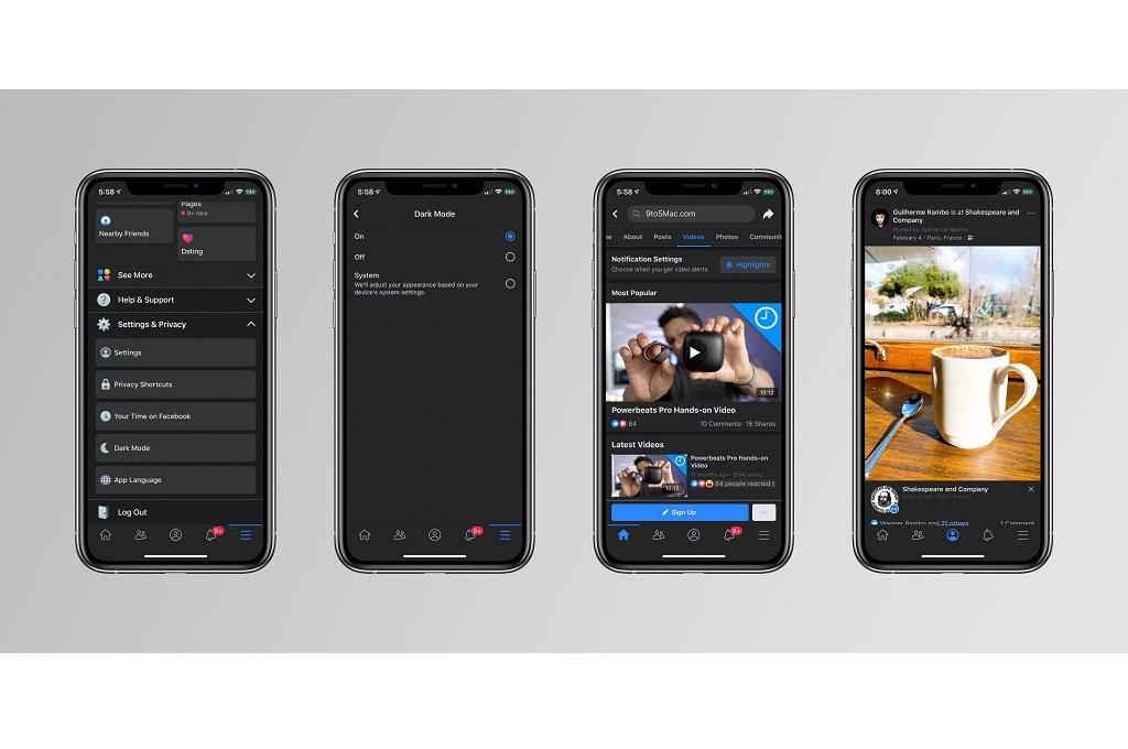 Facebook Uji Dark Mode untuk iOS - Medcom ID