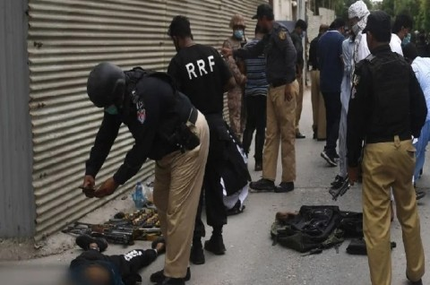 Sembilan Orang Tewas dalam Serangan di Bursa Efek Pakistan