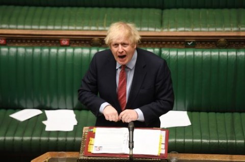 PM Johnson: Covid-19 Bencana Bagi Inggris