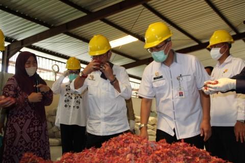 14,4 Ton Bunga Pala Asal Sulut Diekspor ke India