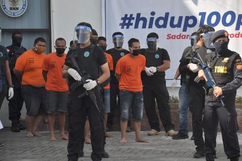 Penyelundupan 40 Kg Sabu di Aceh-Sumut Digagalkan
