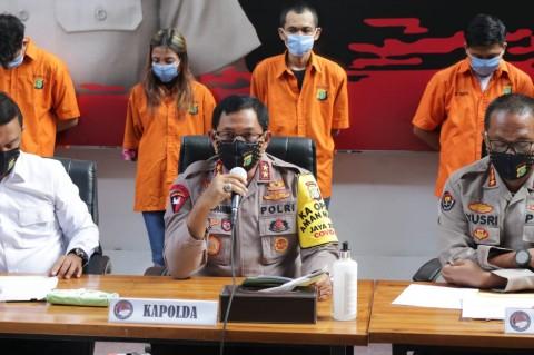 Empat Kurir 11,8 Kg Sabu Ditangkap