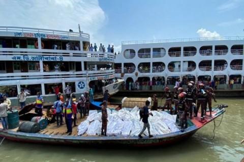 Kapal Feri Tenggelam di Bangladesh, 32 Orang Tewas