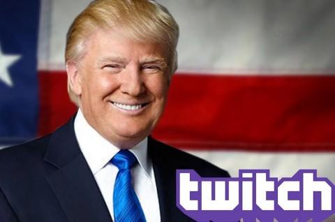 Saluran Twitch Resmi Donald Trump Ditangguhkan