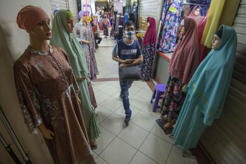 10 Orang Positif Korona, Pasar Tanah Abang Ditutup Sementara