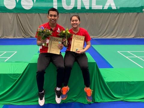 Pasangan Junior Bertekad Beri Kejutan di Turnamen Internal PBSI