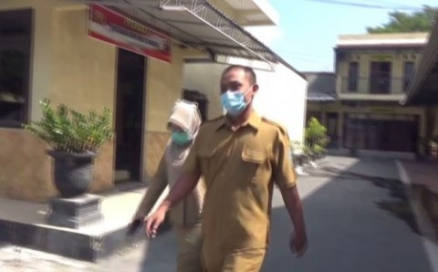 Bendahara Dinsos Nganjuk Diperiksa Polisi Gara-gara Bansos Beras Covid-19