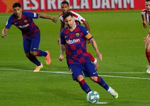Atletico Madrid Paksa Barcelona Berbagi Angka