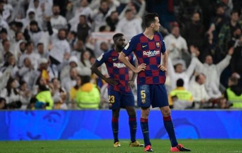 Diimbangi Atletico, Barcelona Dinilai Sulit Raih Gelar