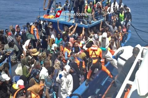 600 Lebih Imigran Gelap Diselamatkan di Perairan Libya