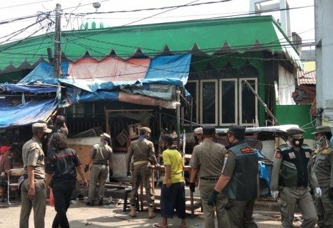 Pasar di DKI Tak Langsung Tutup Meski Ada Kasus Covid-19