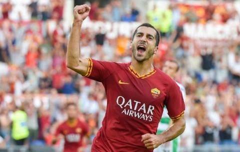 Resmi, Roma Perpanjang Kontrak Mkhitaryan