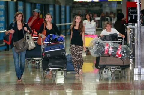 Kunjungan Wisatawan Asing ke RI Turun 86,90%
