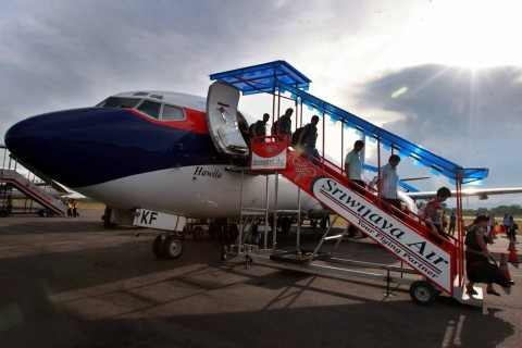 Sriwijaya Operasikan Kembali Rute Penerbangan Domestik Hari Ini