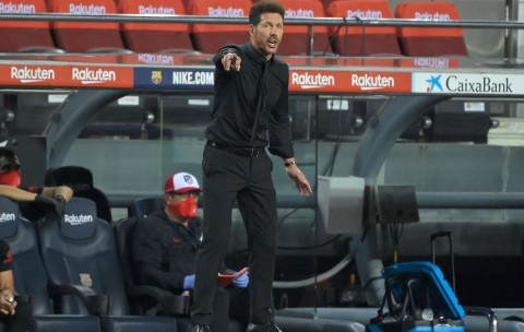 Griezmann Suram di Barcelona, Simeone Pilih Bungkam