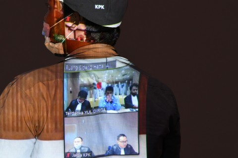 Eks Kepala Kantor Pajak Yul Dirga Divonis 6,5 Tahun Bui