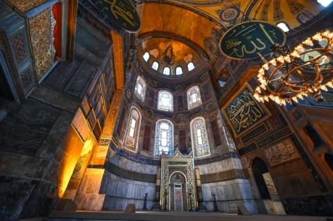 Menlu AS Desak Turki Tetapkan Aya Sophia sebagai Museum