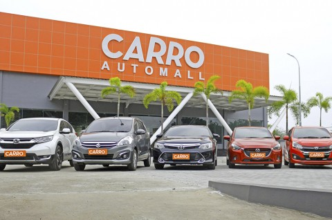 Siasat Carro di Tengah Kelesuan Pasar Mobil Bekas