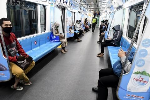 Inovasi Penangkal Penyebaran Covid-19 di MRT