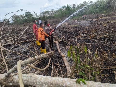 Satu Hektare Lahan di Musi Rawas Sumsel Terbakar