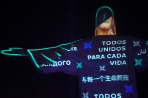 Bentuk Penghormatan untuk Korban Covid-19 di Brasil