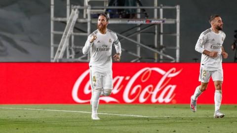 Bungkam Getafe, Real Madrid Jaga Jarak dengan Barcelona