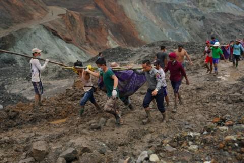 Korban Longsor Tambang Giok Myanmar Bertambah jadi 162 Jiwa
