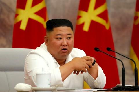 Kim Jong-un Puji Keberhasilan Besar Korut Atasi Covid-19