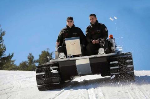 Intip Kendaraan Khusus Antartika di Bawah Nol Derajat