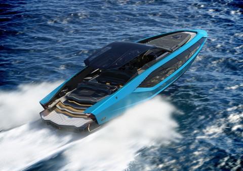 Lamborghini Goda Orang Kaya dengan Yacht Mewah Edisi Terbatas