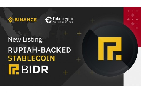 Binance dan Tokocrypto Resmi Perdagangkan BIDR