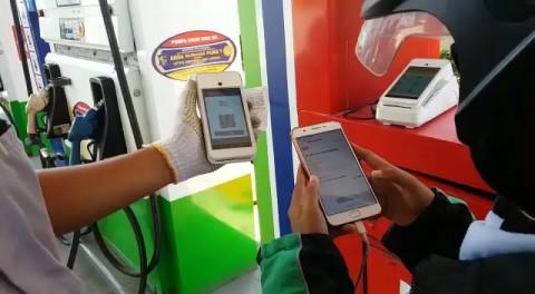 67 SPBU Pertamina di Malang Uji Coba Transaksi Nontunai