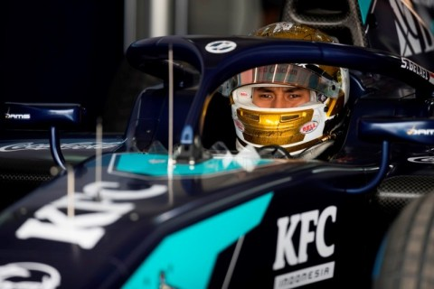Hasil Kualifikasi F2 GP Austria: Pembalap Tiongkok Pimpin Balapan