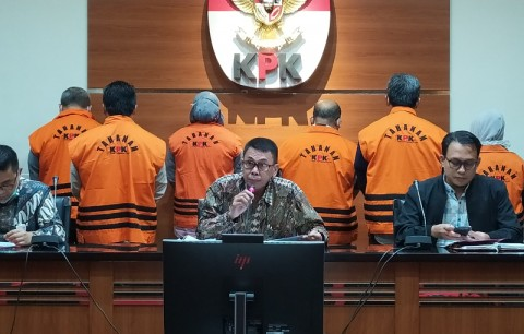 7 Tersangka Korupsi di Kutai Timur Ditahan