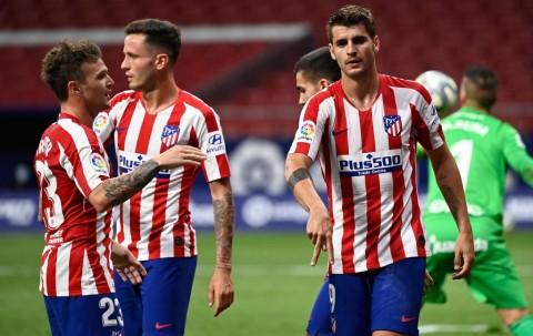 Morata Cetak Dua Gol, Atletico Hajar Mallorca