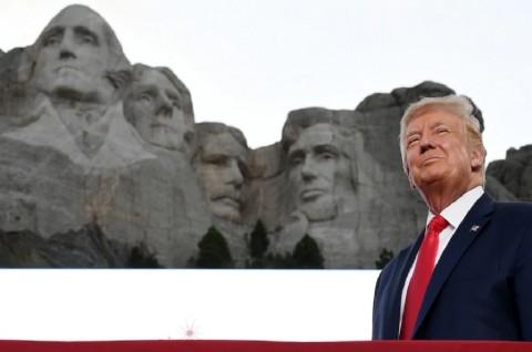 Berpidato di Mt. Rushmore, Trump Kecam Fasisme Baru