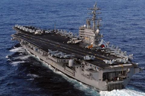AS Kirim Dua Kapal Induk di Tengah Latihan Tiongkok